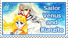 Sailor Venus and Kunzite Stamp by SvetlankaArt