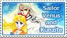 Sailor Venus and Kunzite Stamp by SvetlankaArt