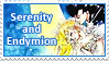 Serenity and Endymion Stamp by SvetlankaArt