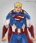 American Saviour - Captain America and Superman