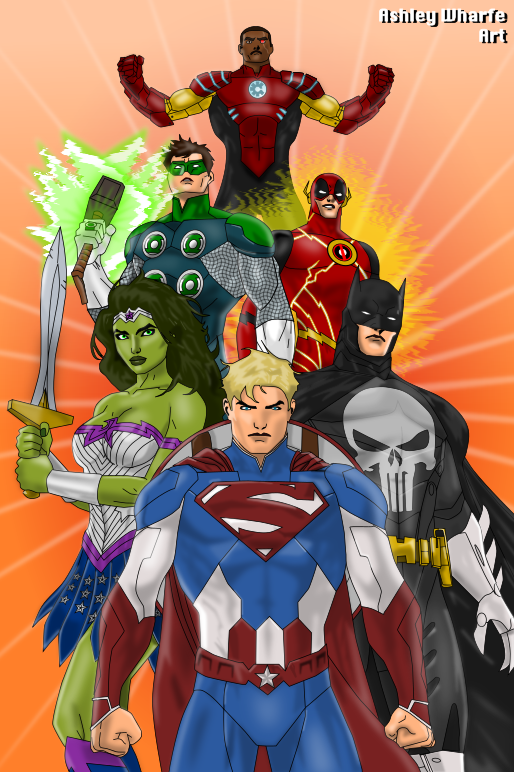 Justice League of Marv...
