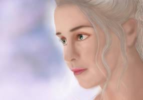 daenerys targaryen by 12whoami