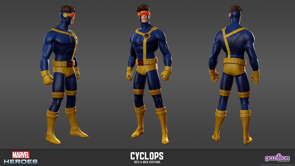 Cyclops X-Men 90's Costume - Cosplay.com
