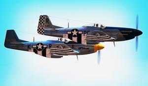 Digital Combat Simulator P-51D - Out galloping