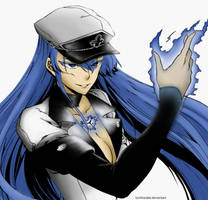 Esdeath by uchihajake