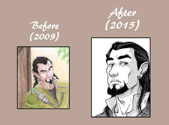 Hurion : Before . After by Ludimie