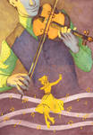 1st Price Illustration Contest : The violonist