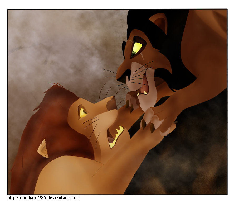 The lion king mufasa and scar - photo#19