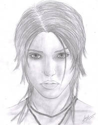 Lara Croft Self-Portrate