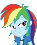 Mlp EqG 3 rainbow dash (...) vector