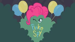 Mlp EqG 3 pinkie pie (pinkie spy background)vector