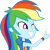rainbow dash EqG 3 (thumb) plz