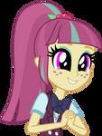 Mlp EqG 3 sour sweet (cute face) vector