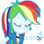 rainbow dash EqG 3 (...) plz