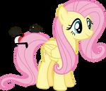 Mlp Fim fluttershy (happy) vector