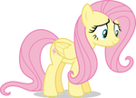 Mlp Fim fluttershy (happy #2) vector