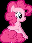 Mlp Fim pinkie pie (sitting) vector