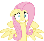 Mlp Fim fluttershy (fear) vector