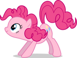Mlp Fim pinkie pie (how do you think?) vector