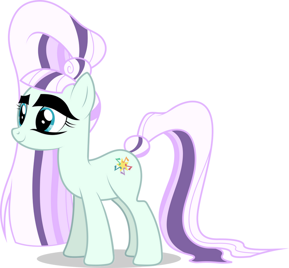 My Little Pony Rara Coloring Pages : Mlp fim countess coloratura vector by luckreza on