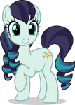Mlp Fim countess coloratura (happy) vector [FIX#2]