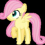 Mlp Fim filly fluttershy (hmm...) vector