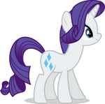 Mlp Fim rarity (how do you think darling?) vector