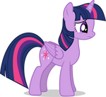Mlp Fim twilight sparkle (sad) vector