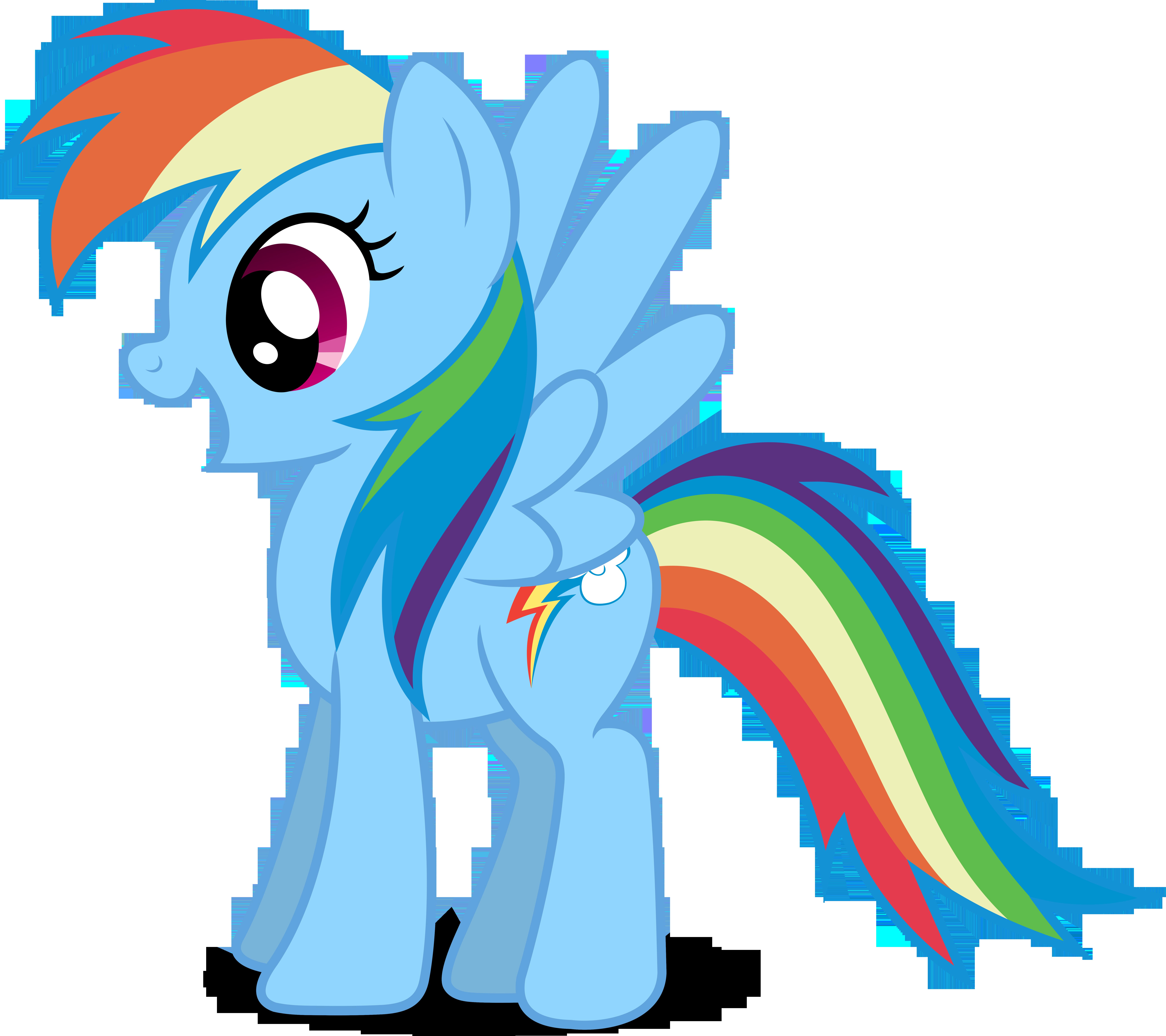 MLP Rainbow Dash Vector by MLPVectors203 on DeviantArt