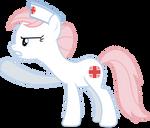 Mlp Fim Nurse Redheart (shut up) Vector