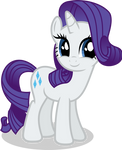 Mlp Fim rarity (happy .:2:.) vector
