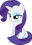 Mlp Fim Rarity (sit down) vector