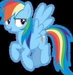 Mlp Fim Rainbow Dash (yeah) Vector