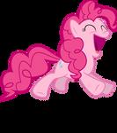 Mlp Fim pinkie pie (yeah) #2 vector