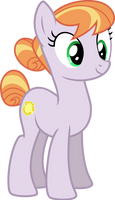 mlp fim Cop Pony (happy) vector by luckreza8