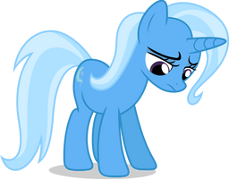 Mlp Fim Trixie (sad) Vector by luckreza8
