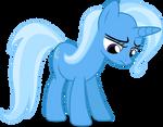 Mlp Fim Trixie (sad) Vector