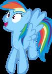Mlp Fim Rainbow Dash (oh wondefull) vector