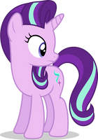Mlp Fim Starlight Glimmer (look back) vector by luckreza8