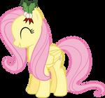 Mlp Fim Fluttershy (happy#2) vector