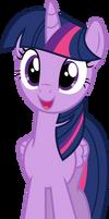 Mlp Fim twilight sparkle (happy warming) vector