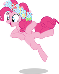 Mlp Fim Pinkie Pie (dance) vector