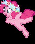 Mlp Fim Pinkie Pie (dance) vector