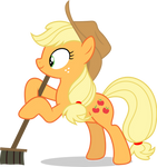 Mlp Fim Applejack (sweep,sweep,sweep) vector