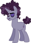 Mlp Fim Purple Reins (sad) vector