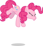 Mlp Fim Pinkie Pie (sneezing) vector