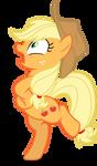 Mlp Fim Applejack (Chicken) vector