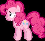 Mlp Fim Pinkie Pie (unhappy) vector