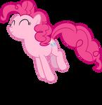 Mlp Fim pinkie pie (jump) vector
