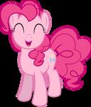 Mlp Fim Pinkie Pie (happy) vector